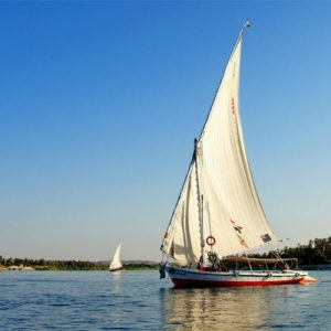 Egyptian Museum and Felucca