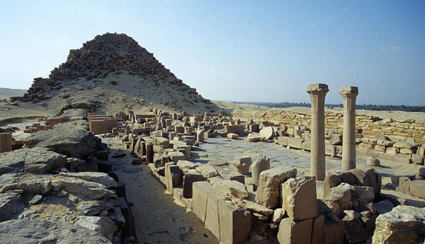 Abusir Necropolis - Egypt Vacation Tours 4