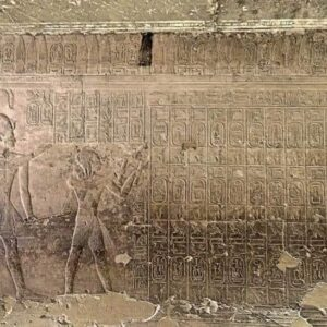 Abydos King List- Egypt Vacation Tours