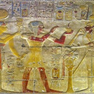 Abydos Temple Inscriptions - Egypt Vacation Tours 1