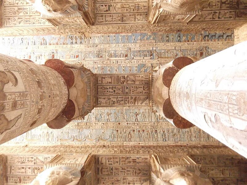 Dendera Temple - Egypt Vacation Tours 1