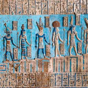 Dendera Temple Inscriptions - Egypt Vacation Tours