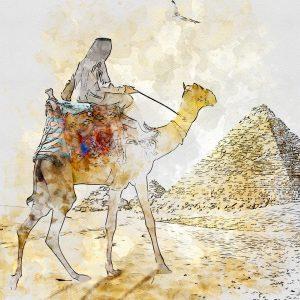 Tour inside Giza Pyramids