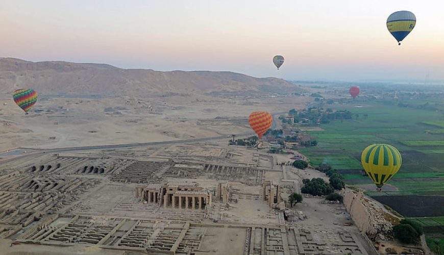 Hot Air Balloon Ride in Luxor - Egypt Vacation Tours