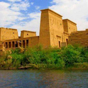 Philae Temple and Aswan Dam