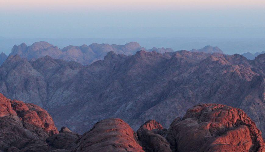 Sunrise on Mount Sinai - Egypt Vacation Tours