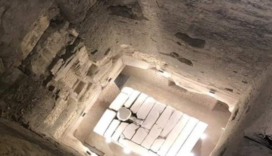 the Step Pyramid from inside - Egypt Vacation Tours