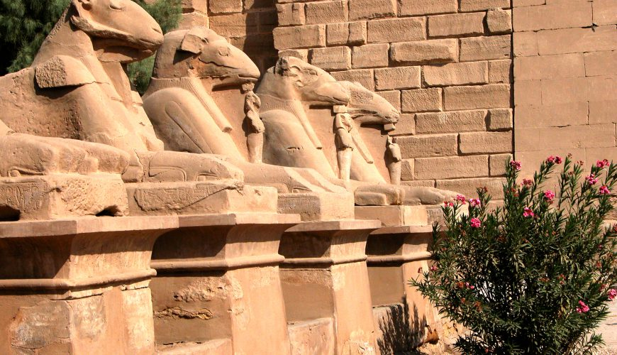 the avenue of Ram - Egypt Vacation Tours 1