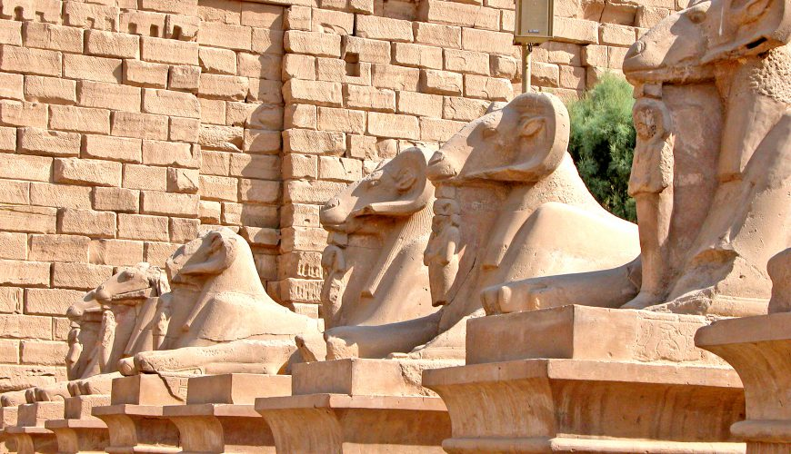 the avenue of Ram - Egypt Vacation Tours