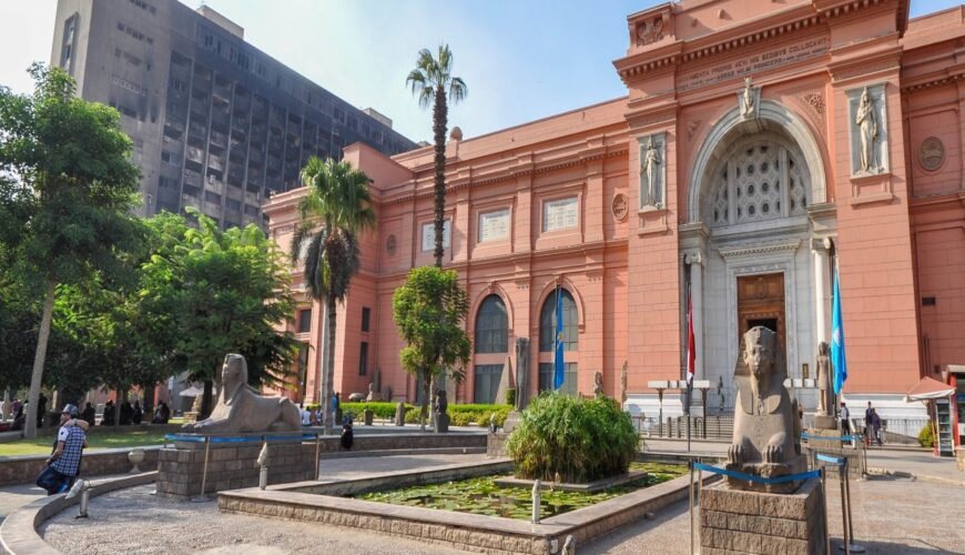 the Egyptian Museum in Tahrir Square - Egypt Vacation Tours