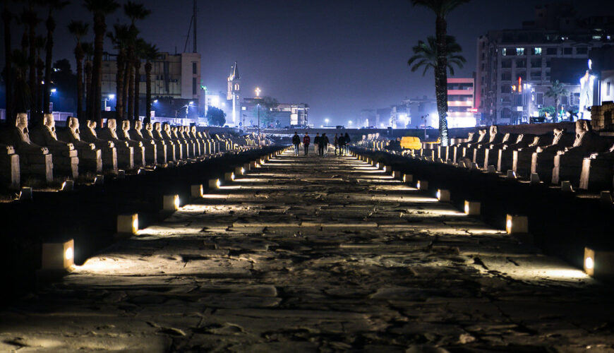 The reviving of the Grand Avenue of Sphinxes in Luxor - Egypt Vacation Tours (2)